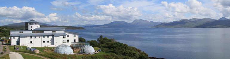 Sabhal Mòr Ostaig - Isle of Skye